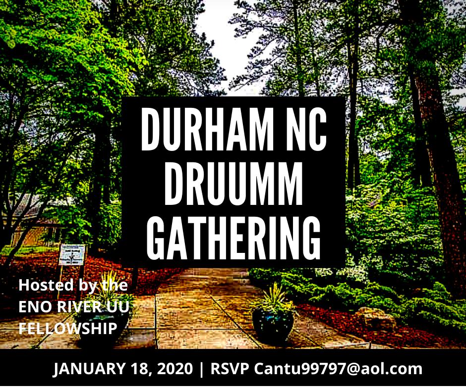 DRUUMM Raleigh Jan 18, 2020